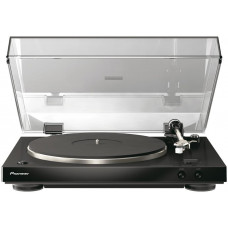 PIONEER gramofon s pevným šasi černý