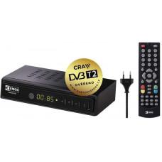 EMOS FULL HD DVB-T2 PŘIJÍMAČ EM-180