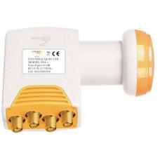 AB COM LNB Golden Media 204+ QUAD High Gain 0,1 dB