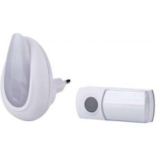 EMOS Bezdrátový zvonek s optickou signalizací