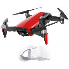 DJI dron, Mavic Air, 4K kamera, červený + DJI Goggles