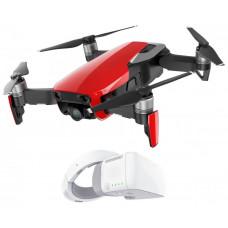 DJI dron, Mavic Air Fly More Combo, 4K kamera, červený + DJI Goggles