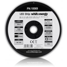 WHITENERGY WE LED páska 50m SMD5050 14.4W/m 10mm studená bílá
