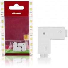 WHITENERGY WE Spojka LED pásku L 2x2PIN F 2ks