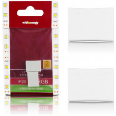 WHITENERGY WE Spojka RGB LED pásku 2x4PIN F 2ks