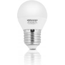 WHITENERGY WE LED žárovka SMD2835 G45 E27 7W teplá bílá