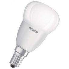 LEDVANCE LED žárovka E14  5,0W 2700K 470lm VALUE P-kapka matná Osram