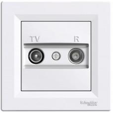 Schneider Electric Asfora zásuvka TV+R průběžná 4dB White