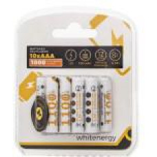 WHITENERGY WE Nabíjecí baterie AAA 1100mAh Ni-MH 10ks-blister