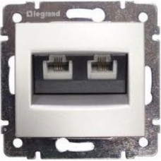 LEGRAND Valena zásuvka dat. 2-násobná RJ45 Cat.6 FTP bílá