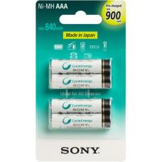 SONY NiMH AAA nabíjecí baterie 900mAh- 4ks