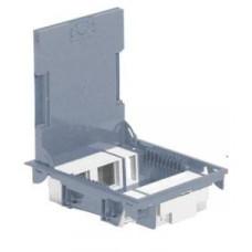 LEGRAND Krabice podlahová 10M šedá