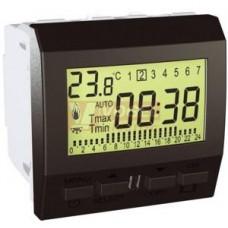 Schneider Electric Top termostat týdenní prostorový Grafit
