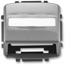 ABB Tango kryt zásuvky komunikační kouřová šedá