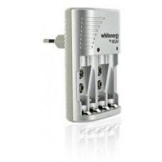 WHITENERGY WE Nabíječka pro 4 x AA/AAA, 2x 6F22 (9V), 400mAh