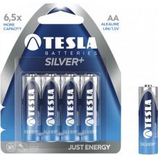 TESLA - baterie AA SILVER+, 4ks, LR06