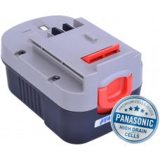 AVACOM Baterie AVACOM BLACK & DECKER A144, A1714 Ni-MH 14,4V 3000mAh, články PANASONIC