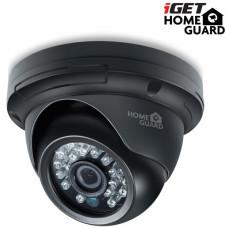 IGET HGPRO729 - CCTV HD 720p Dome barevná kamera IP66, BNC+Jack, noční přísvit IRLED 20m
