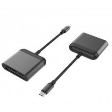 HYPER rive USB-C Pro Card Reader (CF, SD,microSD)