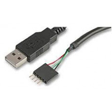 AKASA - USB kabel - 40 cm - prodlužovací