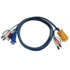 ATEN sdružený kabel k CS-1732,34,58, USB, 3m
