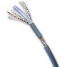 DATACOM UTP flex,Cat6 PVC,šedý,100m,lanko