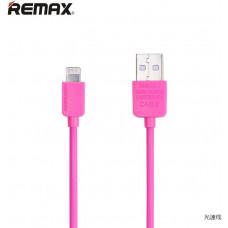 REMAX Datový kabel , iPhon 5/6/ 4 , barva růžová