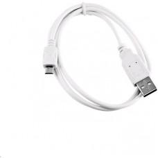 C-TECH Kabel C-TECH USB 2.0 AM/Micro, 1m, bílý