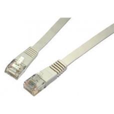 SOLARIX patch kabel plochý CAT6 UTP LSOH 10m šedý