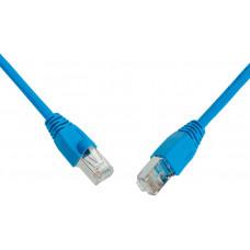SOLARIX patch kabel CAT6 UTP PVC 2m modrý snag proof