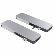 HYPER rive SOLO USB-C Hub - Silver