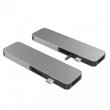 HYPER rive SOLO USB-C Hub - Gray