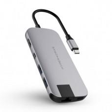 HYPER rive SLIM USB-C Hub - Space Gray