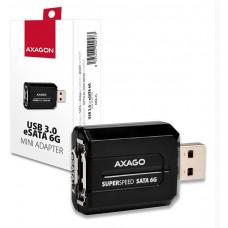 AXAGON ADSA-ES, USB3.0 - eSATA 6G MINI adaptér