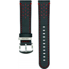 SAMSUNG Ducati řemínek Galaxy Watch, Black+Red