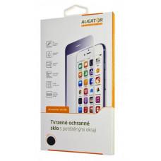 ALIGATOR Ochrana displeje GLASS PRINT iPhone 6/6S Plus černá