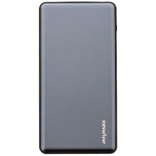 MyMAx MP2 PowerBank QC 3.0 LCD Type C/MicroUSB 10000mAh Grey