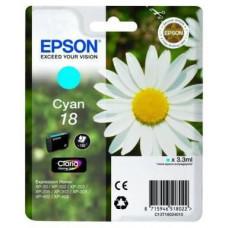 EPSON T1802 Singlepack 18 Claria Home Ink Cyan