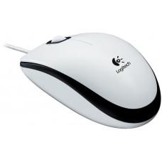 LOGITECH myš Logitech M100 optická, bílá, USB