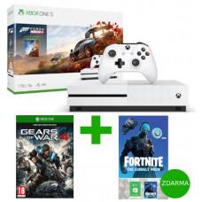 MICROSOFT AKCE: XBOX ONE S 1 TB + Forza Horizon 4 + Fortnite The Cobalt Pack - akční cena (+dárek
