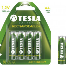 TESLA - baterie AA RECHARGEABLE+, 4ks, HR6
