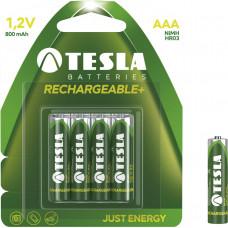 TESLA - baterie AAA RECHARGEABLE+, 4ks, HR03