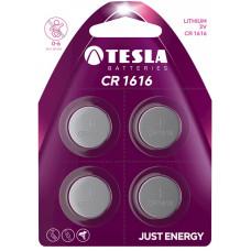 TESLA - baterie TESLA CR1616, 4ks, CR1616