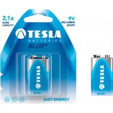 TESLA - baterie 9V BLUE+, 1ks, 6F22
