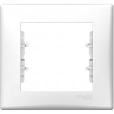 Schneider Electric Sedna rámeček 1-násobný Polar