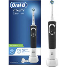 ORAL B VITALITY 100 CROSS ACTION Black
