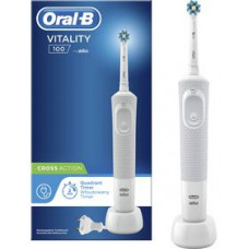 ORAL B VITALITY 100 CROSS ACTION White