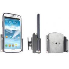 BRODIT držák do auta na mobilní telefon nastavitelný, bez nabíjení, š. 75-89 mm, tl. 6-10 mm