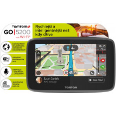 TOMTOM GO 5200 World, Wi-Fi, LIFETIME mapy