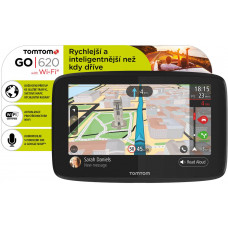 TOMTOM GO 620 World, Wi-Fi, LIFETIME mapy